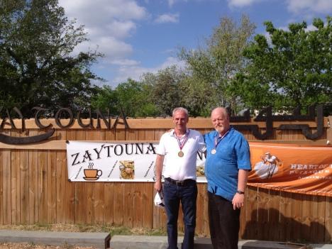 Zaytouna third place:Bill Baker and Cesar