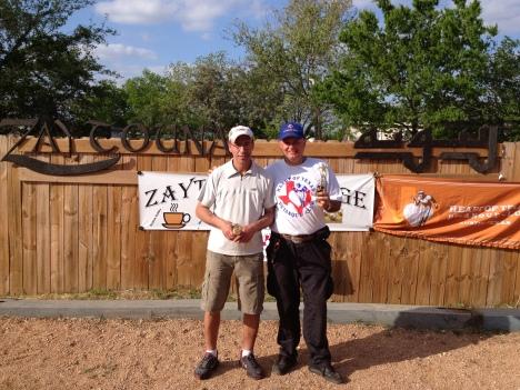 Zaytouna first place: Amine and Arsene