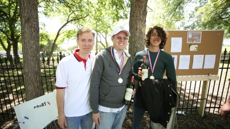 Consolante. First place from left to right Nicolas, Bryan and Keith