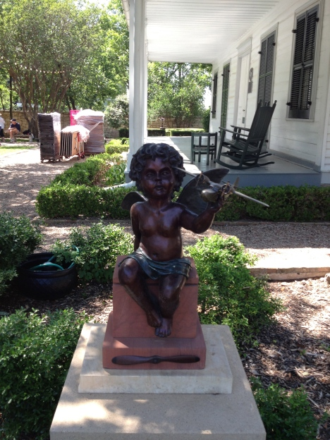 One of the many scuptures   displayed at the French Legation Museum.
