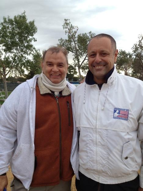 Richard Trani on left