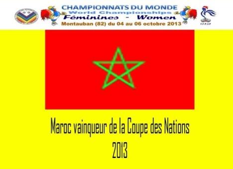 Morocco wins La Coupe des nations.