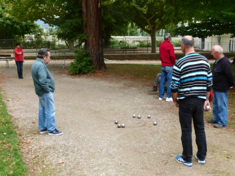 Sauvage style in Millau au parc de la Victoire with local players
