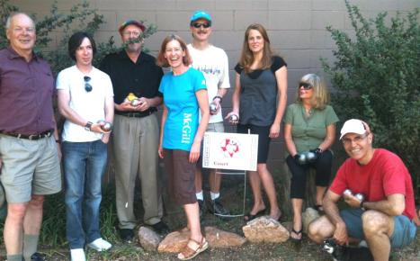 H.O.T makes both club meet CO Springs and Mile High Petanque Club.