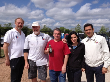 Our friends from the San Antonio Petanque Club
