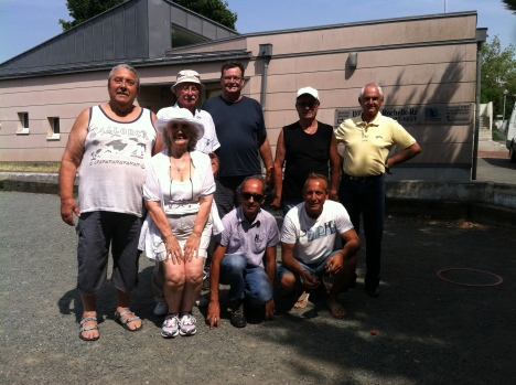 H.O.T Connect with the La Rochelle Petanque Club in France. July