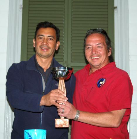 Fernando Triana  on the left, Michel Costa on right.