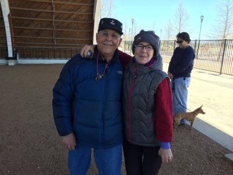 Jo Sanchez and Linda  Schryver.