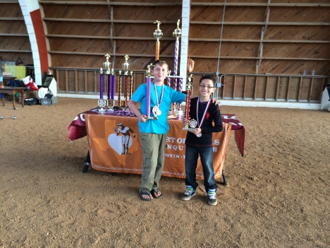 Third place Owen Tyree on left Zaid Najah on right.