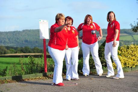 Wales petanque team.
