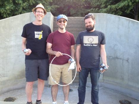 From left: David Keil (President), Steve Lessard ( Vice President), Matt Johnson