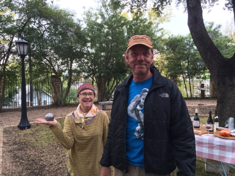 Linda and Jeffrey they organized Marco and Bernard stay in Austin.